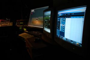 Studio v noci